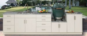 outdoor cabinetry tropical