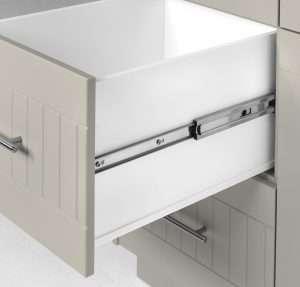 Outdoor Pullout Cabinet Glacier Grey