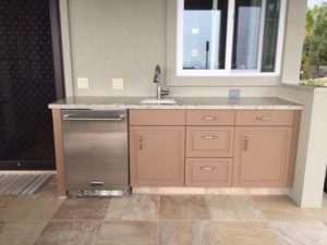 Outdoor Cabinet Sink 2