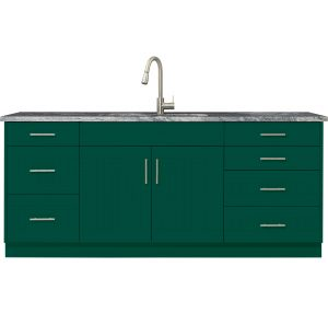 outdoor cabinet forest green