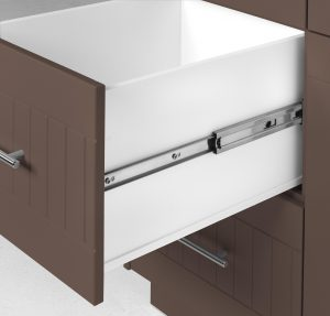 Outdoor Pullout Cabinet Chestnut