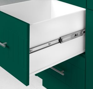 Outdoor Pullout Cabinet Forest Green