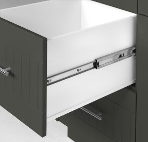 Outdoor Pullout Cabinet Moss Grey