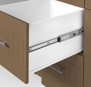 Outdoor Pullout Cabinet Tan