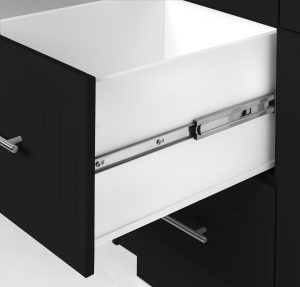 Outdoor Pullout Cabinet Black