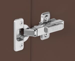 Outdoor Pullout Cabinet chestnut hinge