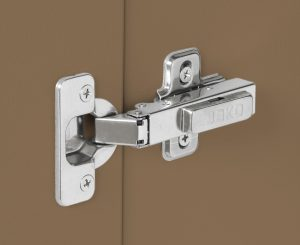 Outdoor Pullout Cabinet tan hinge