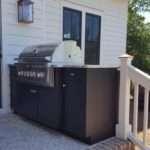 Outdoor Cabinet Weatherproof Grill