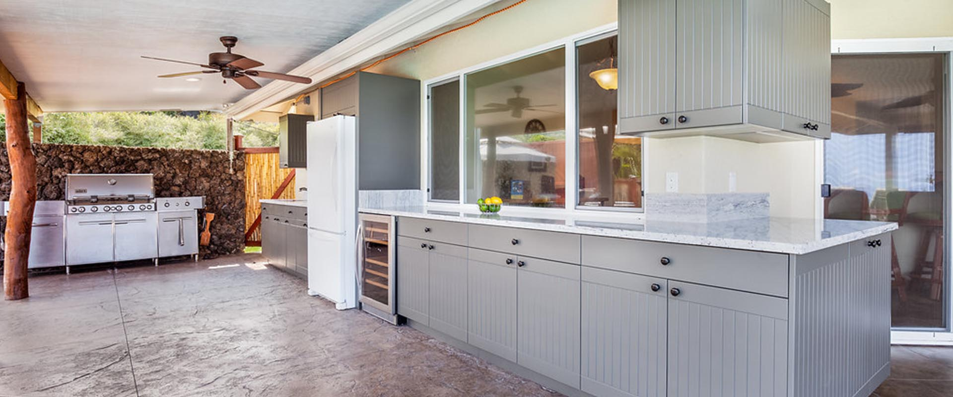 Hawaii Outdoor Cabinets